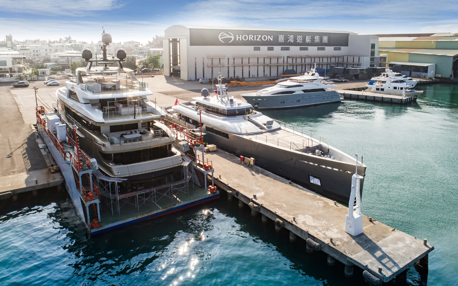 Horizon's Refit Center Attracts Megayachts