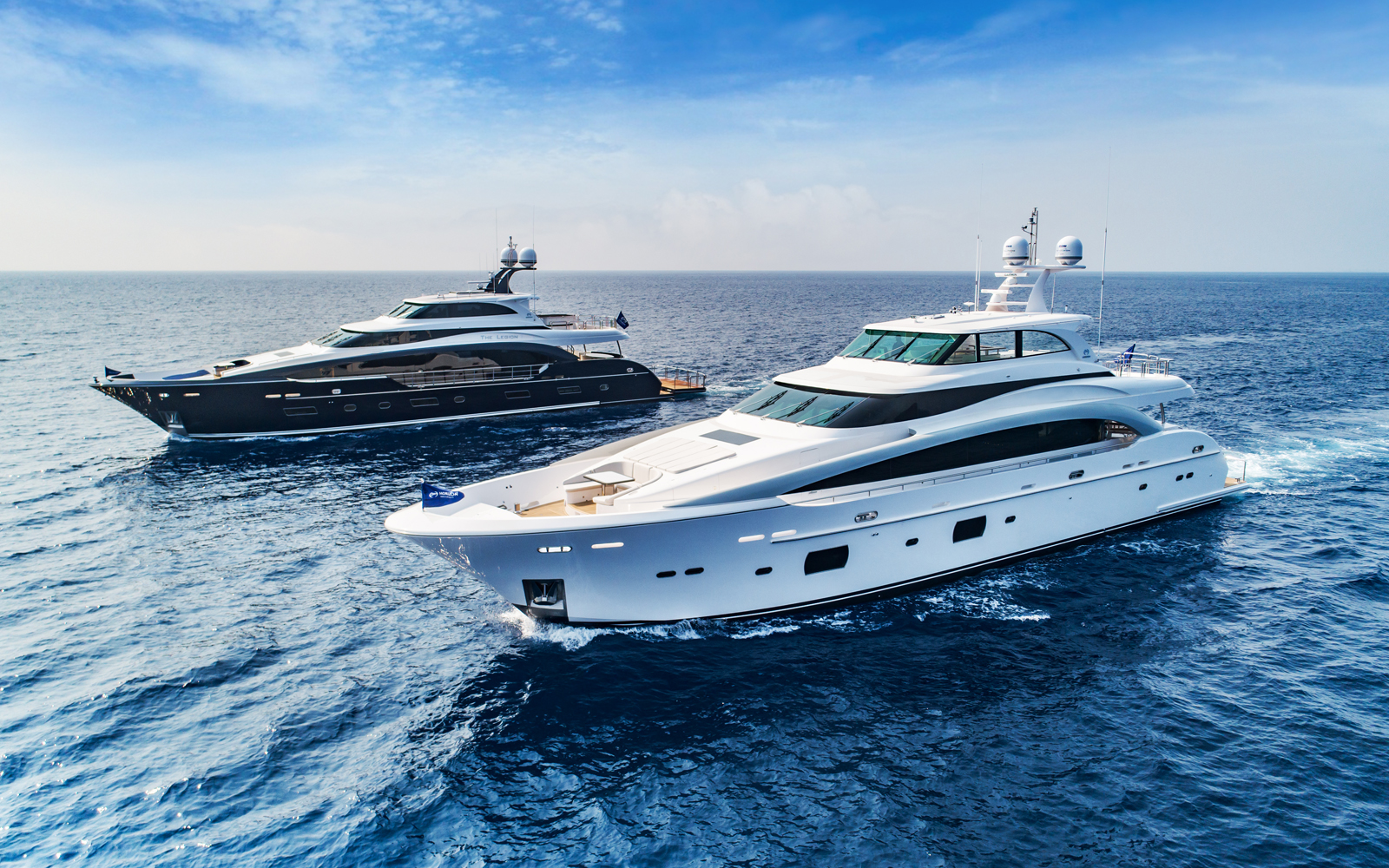 Horizon Launches Twin RP110 Superyachts