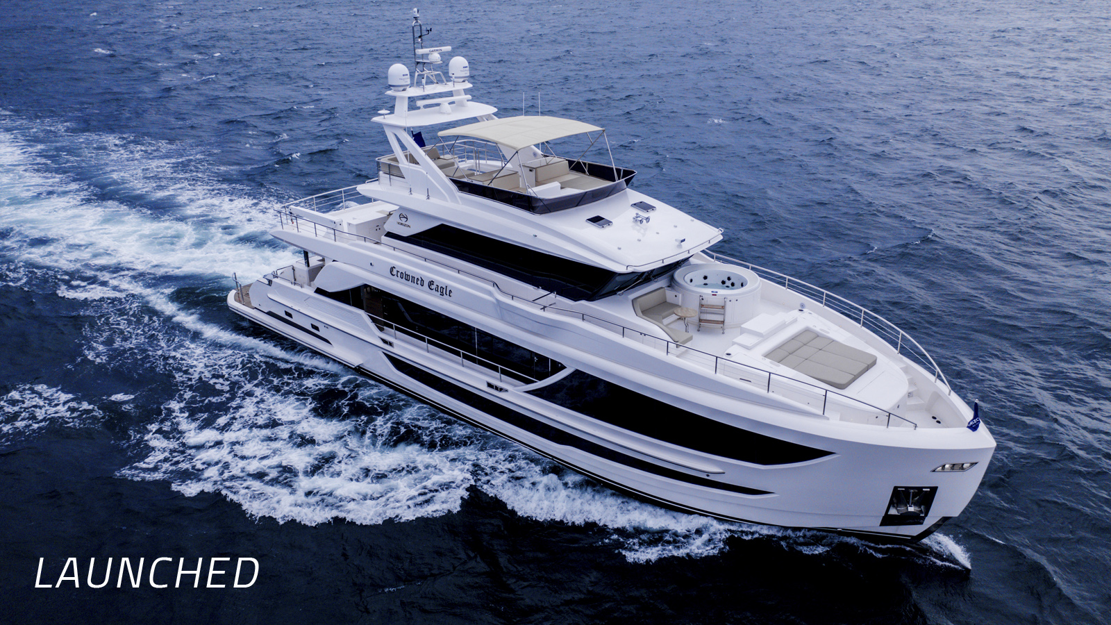 Launched | First FD92 Tri-Deck