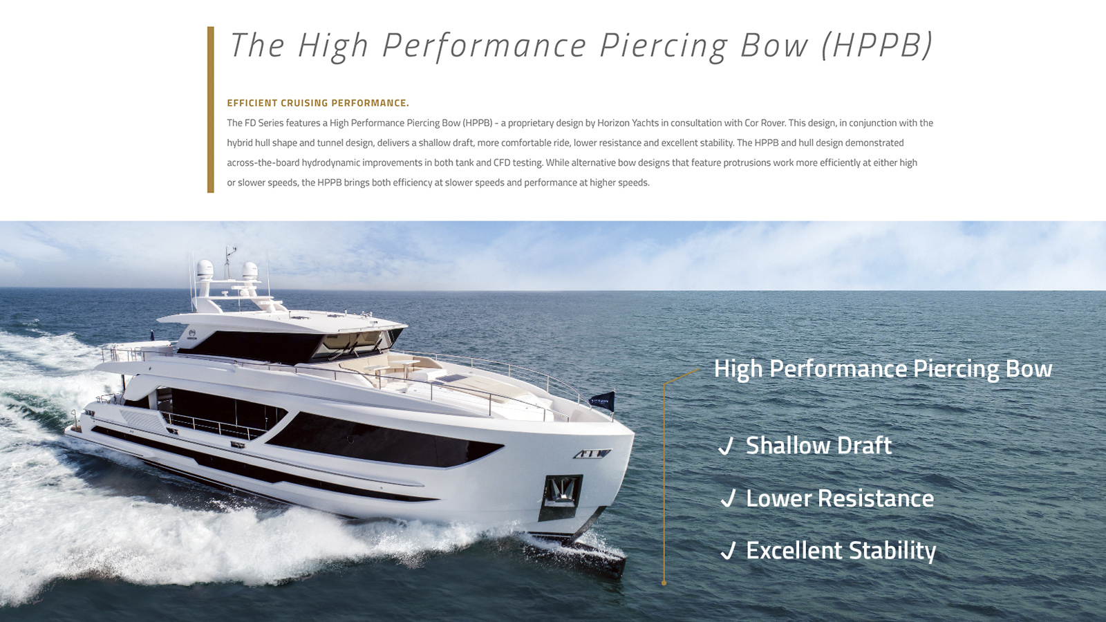 High Performance Piercing Bow