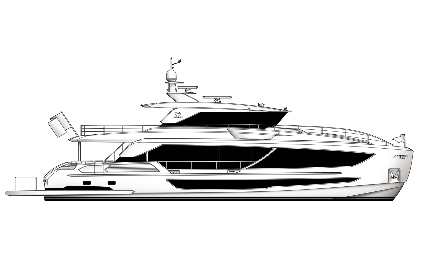 Horizon Sells FD87 Hull #12